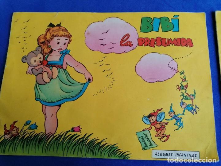 Libros de segunda mano: 2 CUENTOS ALBUNES INFANTILES DE EDICICIONES TORAY EL RATONCITO SABIO Y BIBI LA PRESUMIDA - Foto 2 - 221928155