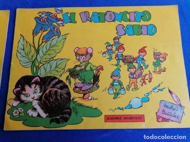 Libros de segunda mano: 2 CUENTOS ALBUNES INFANTILES DE EDICICIONES TORAY EL RATONCITO SABIO Y BIBI LA PRESUMIDA - Foto 3 - 221928155