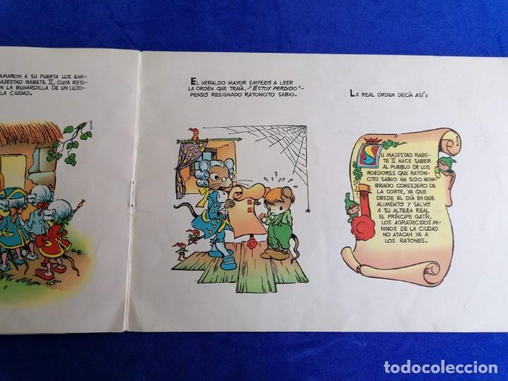 Libros de segunda mano: 2 CUENTOS ALBUNES INFANTILES DE EDICICIONES TORAY EL RATONCITO SABIO Y BIBI LA PRESUMIDA - Foto 5 - 221928155