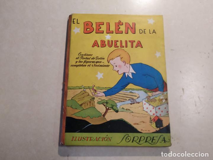 EL BELÉN DE LA ABUELITA - ILUSTRACIÓN SORPRESA - COMPLETO (Libros de Segunda Mano - Literatura Infantil y Juvenil - Cuentos)
