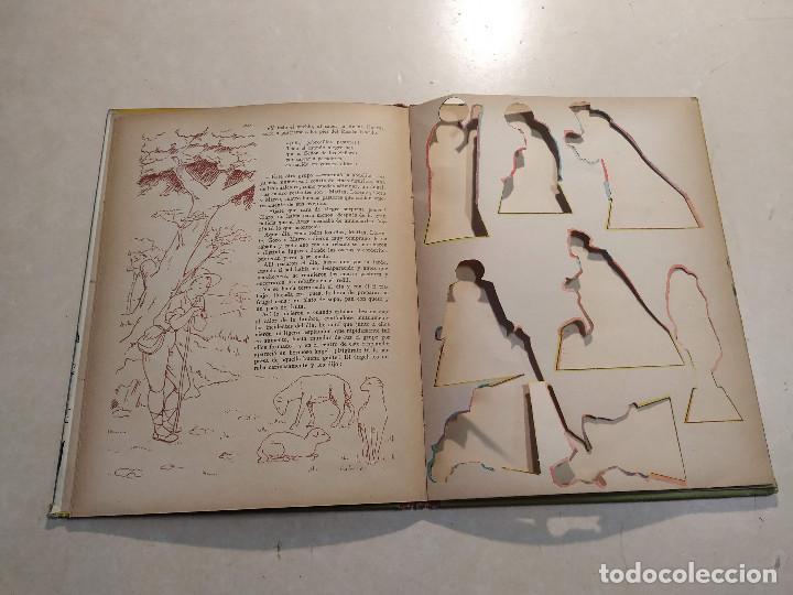 Libros de segunda mano: EL BELÉN DE LA ABUELITA - ILUSTRACIÓN SORPRESA - COMPLETO - Foto 5 - 221929465