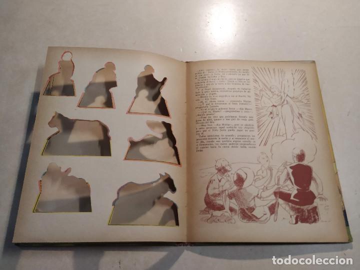 Libros de segunda mano: EL BELÉN DE LA ABUELITA - ILUSTRACIÓN SORPRESA - COMPLETO - Foto 7 - 221929465