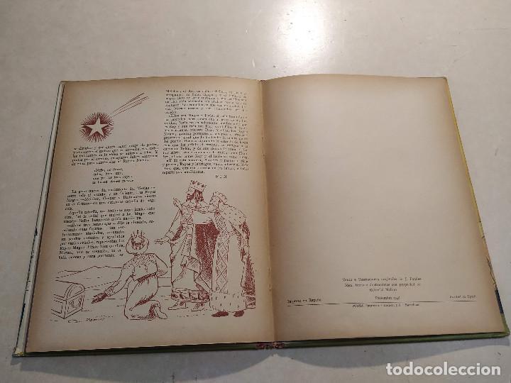 Libros de segunda mano: EL BELÉN DE LA ABUELITA - ILUSTRACIÓN SORPRESA - COMPLETO - Foto 9 - 221929465