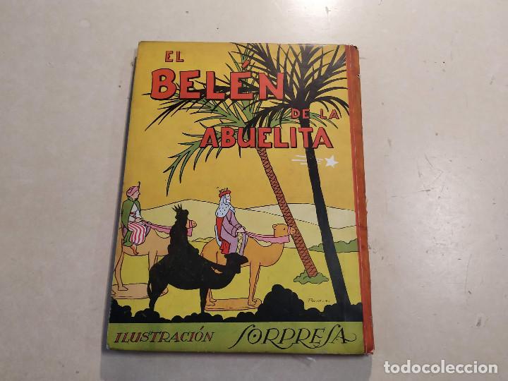 Libros de segunda mano: EL BELÉN DE LA ABUELITA - ILUSTRACIÓN SORPRESA - COMPLETO - Foto 15 - 221929465