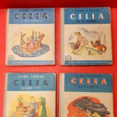 Libros de segunda mano: CELIA. ELENA FORTUN. 4 CUENTOS. 1948.. Lote 222007077