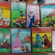 Libros de segunda mano: LOTE WALT DISNEY 7 LIBROS. EDITORIAL EVEREST. Lote 222008525