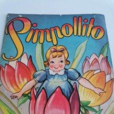 Libros de segunda mano: CUENTOS INFANTILES EN CUENTO *PIMPOLLITO* POR J.C. ANDERSEN. IMPRESO EN ARGENTINA 1945. Lote 222057962