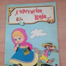 Libros de segunda mano: CAPERUCITA ROJA. Lote 222088482