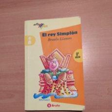 Libros de segunda mano: EL REY SIMPLÓN. Lote 222092088