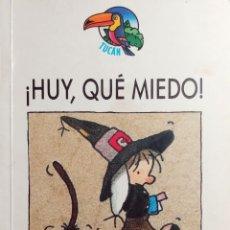 Libri di seconda mano: ¡HUY, QUE MIEDO! / RICARDO ALCÁNTARA ; IL., GUSTI. BARCELONA : EDEBÉ, 1992. (COLECCIÓN FUCÁN ; 1).. Lote 222298335