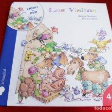 Libros de segunda mano: LIBRO+DVD-LAS VISITAS-BEATRIZ DOUMERC-IMAGINARIUM-EXCELENTE ESTADO-VER FOTOS. Lote 222424307
