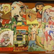 Libros de segunda mano: LOTE DE 9 CUENTOS TROQUELADOS DE LA DECADA DE LOS 60. Lote 222574260