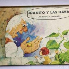 Libros de segunda mano: MIS CUENTOS FAVORITOS: JUANITO Y LAS HABAS (ED. NORMA, COLOMBIA, 1975) ORIGINAL. COLECCIONISTA.. Lote 222578311
