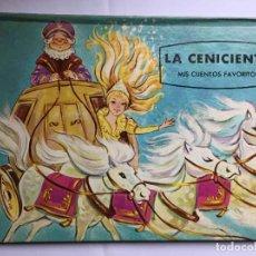 Libros de segunda mano: MIS CUENTOS FAVORITOS: LA CENICIENTA (ED. NORMA, COLOMBIA, 1975) ORIGINAL. COLECCIONISTA.. Lote 222578935