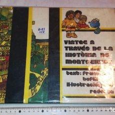 Libros de segunda mano: VIATGE A TRAVÉS DE LA HISTORIA DE MONTSERRAT. Lote 222989236