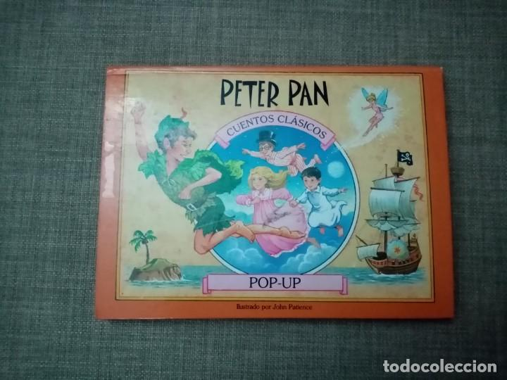 PETER PAN CUENTOS CLASICOS POP-UP EDICIONES SALDAÑA 2001 (Libros de Segunda Mano - Literatura Infantil y Juvenil - Cuentos)