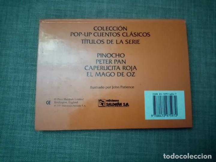 Libros de segunda mano: PETER PAN CUENTOS CLASICOS POP-UP EDICIONES SALDAÑA 2001 - Foto 2 - 224366788