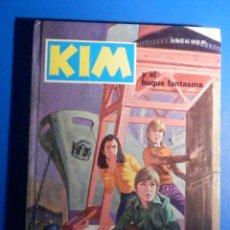 Libros de segunda mano: KIM - Y EL BUQUE FANTASMA - Nº 4 - JENS K. HOLM - EDICIONES TORAY - 1974. Lote 224590641