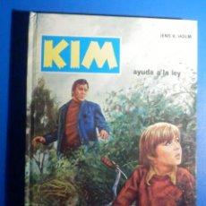 Libros de segunda mano: KIM - AYUDA A LA LEY - Nº 3 - JENS K. HOLM - EDICIONES TORAY - 1974. Lote 224591188