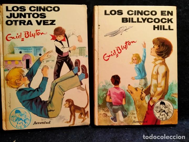 LOS CINCO JUNTOS OTRA VEZ Y LOS CINCO EN BILLIYCOCK HILL..LB5 (Libros de Segunda Mano - Literatura Infantil y Juvenil - Cuentos)