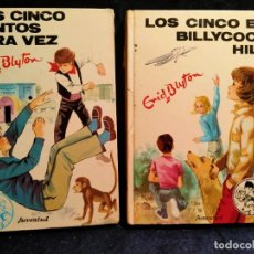 Libros de segunda mano: LOS CINCO JUNTOS OTRA VEZ Y LOS CINCO EN BILLIYCOCK HILL..LB5. Lote 225366565