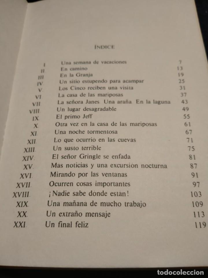 Libros de segunda mano: Los cinco juntos otra vez y Los cinco en Billiycock Hill..Lb5 - Foto 4 - 225366565