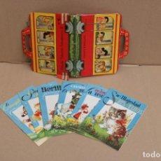 Libros de segunda mano: ESTUCHE COLECCIÓN GOLONDRINA Nº2. 6 CUENTOS. EDITORIAL ROMA-BARCELONA. Lote 225481695