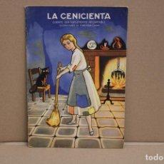 Libros de segunda mano: LA CENICIENTA. ILUSTRACIONES DE VALVERDE CASAS. EDICIONES ORVY S.L.. Lote 225487495