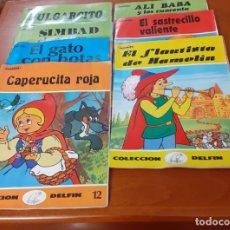 Libros de segunda mano: LOTE DE 7 CUENTOS INFANTILES COLECCION DELFIN. Lote 225791668