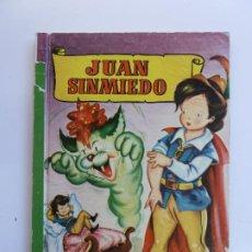 Libros de segunda mano: JUAN SIN MIEDO. COLECCIÓN PARA LA INFANCIA. 1959. Lote 226381058