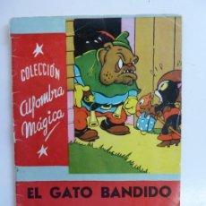 Libros de segunda mano: EL GATO BANDIDO. CUENTO DE WALT DISNEY. COLECCIÓN ALFOMBRA MÁGICA. Nº 39. Lote 226382105