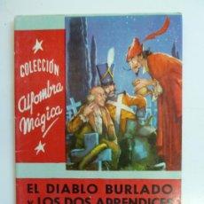 Libros de segunda mano: EL DIABLO BURLANDO Y LOS DOS APRENDICES. HERMANOS GRIMM. COLECCIÓN ALFOMBRA MÁGICA. Nº41. Lote 226382465