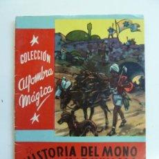 Libros de segunda mano: HISTORIAS DEL MONO MARAVILLOSO. COLECCIÓN ALFOMBRA MÁGICA. Nº 23. Lote 226382880