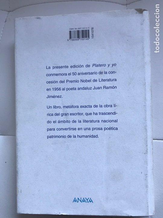 Libros de segunda mano: PLATERO Y YO DE Juan RAMON JIMÉNEZ Thomas Docherty ANAYA 2006 - Foto 2 - 226378602