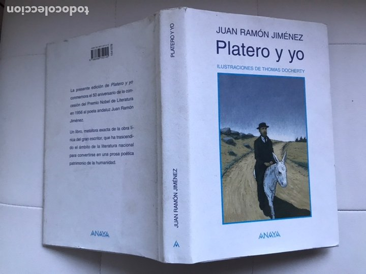 Libros de segunda mano: PLATERO Y YO DE Juan RAMON JIMÉNEZ Thomas Docherty ANAYA 2006 - Foto 3 - 226378602