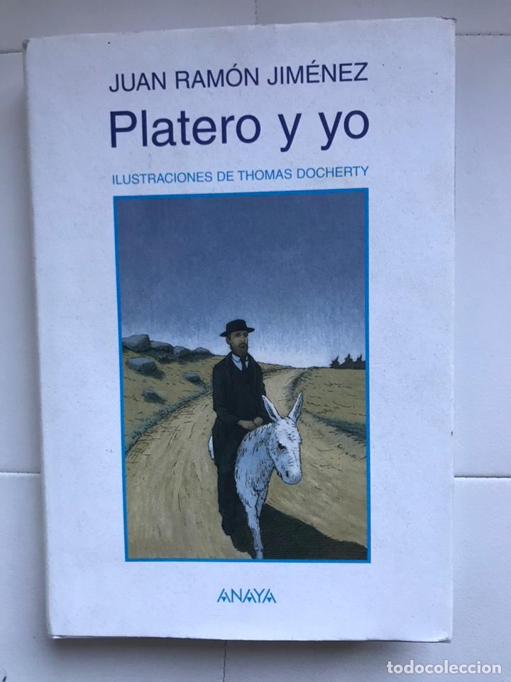 PLATERO Y YO DE JUAN RAMON JIMÉNEZ THOMAS DOCHERTY ANAYA 2006 (Libros de Segunda Mano - Literatura Infantil y Juvenil - Cuentos)