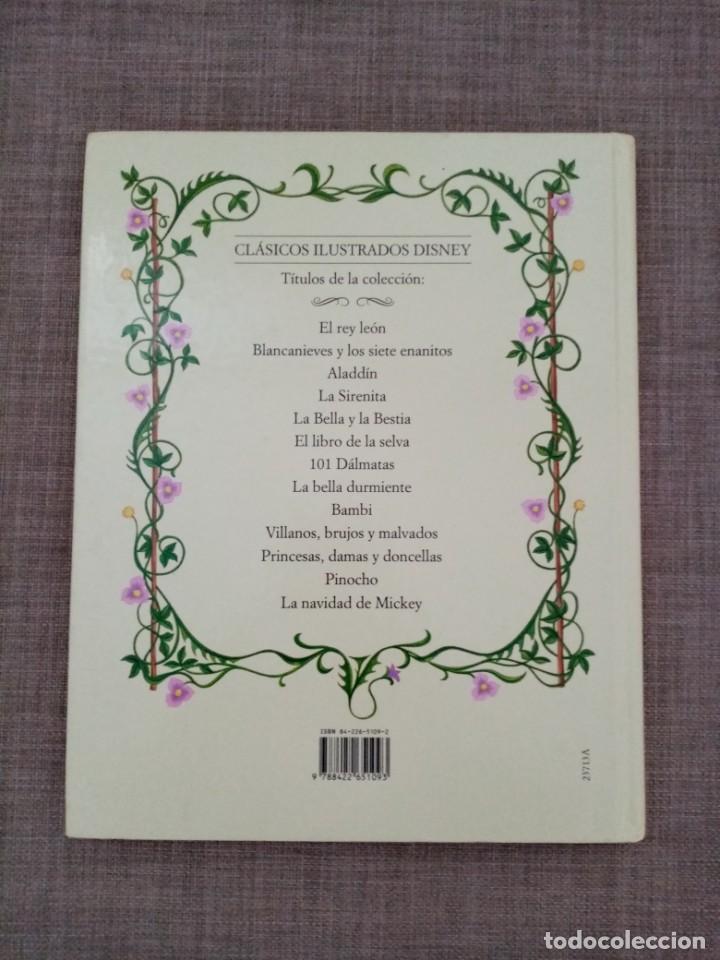 Libros de segunda mano: LA BELLA DURMIENTE WALT DISNEY CIRCULO DE LECTORES 1995 - Foto 2 - 227557635