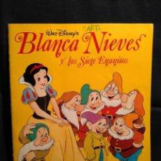 Libros de segunda mano: BLANCA NIEVES Y LOS 7 ENANITOS. DISNEY'S. COLECCIONABLE. LB15. Lote 228155040