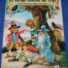 Libros de segunda mano: EL LARGO SUEÑO DE RIP - COLECCIÓN LA HORA DE LOS SUEÑOS - JOHN PATIENCE - SALDAÑA. Lote 228189745