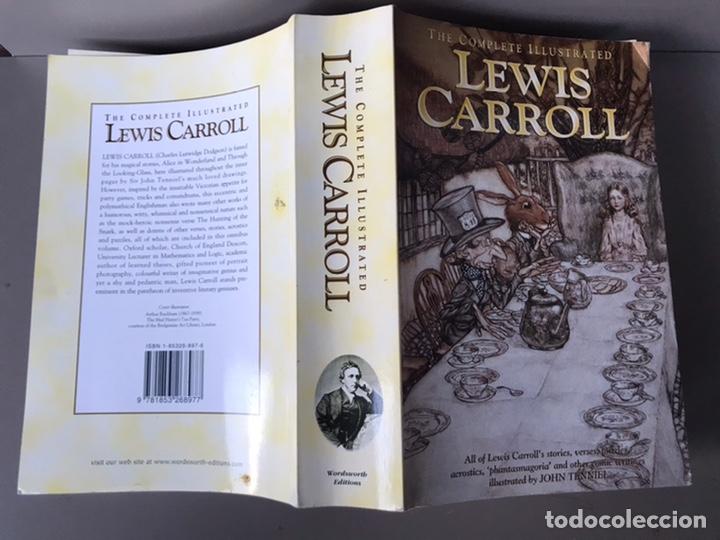 Libros de segunda mano: The complete ilustrated Lewis Carrol 1998 wordsworth edition - Foto 3 - 229100305