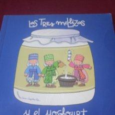 Libros de segunda mano: LAS TRES MELLIZAS Y EL YOGHOURT. Lote 229301845