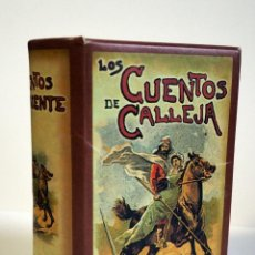 Libros de segunda mano: LOS CUENTOS DE CALLEJA. 12 REPRODUCCIONES CON EL ESTUCHE. Lote 229412530