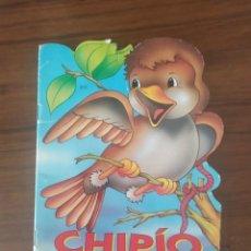 Libros de segunda mano: CHIPIO EL GORRIONCITO PELEADOR , EDITORIAL SIGMAR COLECCION MIS ANIMALITOS. Lote 230732030