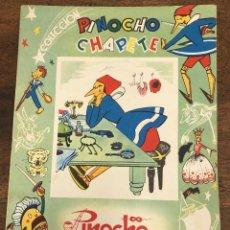 Livres d'occasion: PINOCHO DETECTIVE. COLECCION PINOCHO CHAPETE. EDITORIAL GAHE. AÑO 1960. Lote 231331295