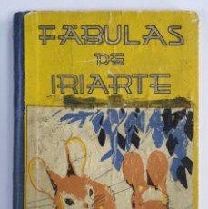 Libros de segunda mano: FÁBULAS LITERARIAS DE TOMÁS DE IRIARTE - EDITORIAL SATURNINO CALLEJA. 126 PÁGINAS, 68 FÁBULAS. Lote 232940600