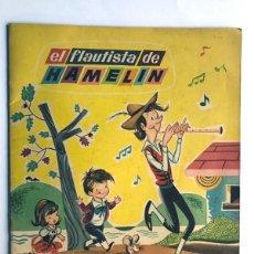 Libros de segunda mano: SABATÉS / EL FLAUTISTA DE HAMELÍN / ED. BRUGUERA AÑO 1962 / COLECCION COLORÍN. Lote 233006360