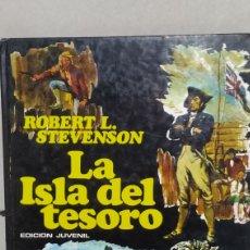 Libros de segunda mano: LA ISLA DEL TESORO - EDITORIAL PLAZA & JANES - AÑO 1976. Lote 233670080