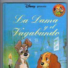 Libros de segunda mano: LA DAMA Y EL VAGABUNDO - DISNEY CLUB DEL LIBRO - SALVAT. Lote 233908500