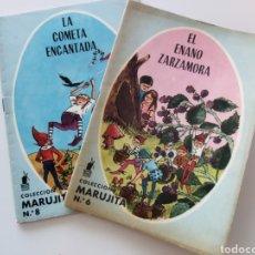 Libros de segunda mano: LOTE DE 2 CUENTOS CON ILUSTRACIONES COLECCIÓN MARUJITA.AÑO 1964. Lote 234685735