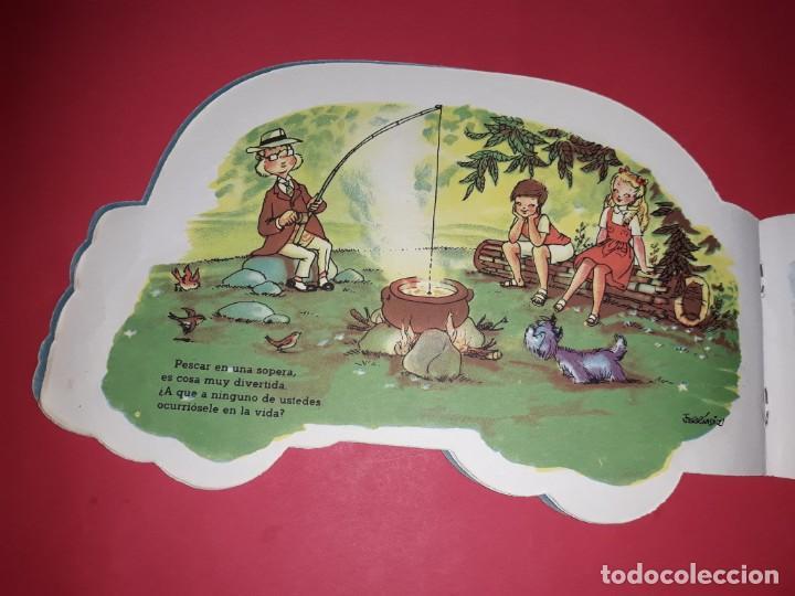 Libros de segunda mano: Cuento Troquelado Tarde de Campo 1ª Edición Editorial Vilcar - Foto 5 - 234917385